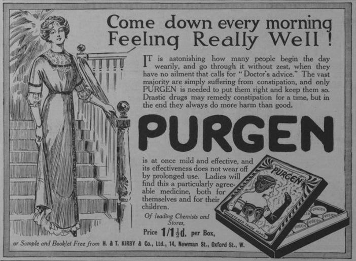 Gower St Purgen ad