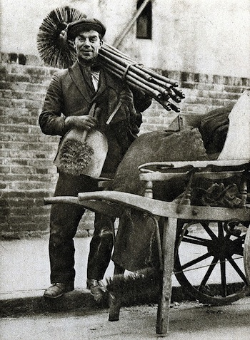 Gower St chimney sweep