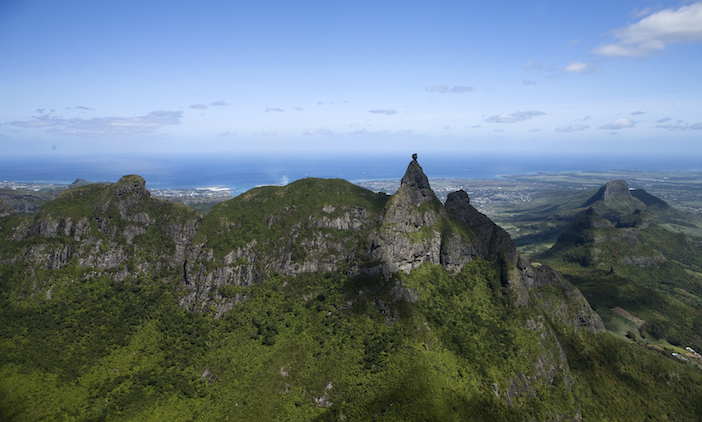 Mauritius Pieter Both Mountain
