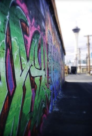 Vegas graffiti