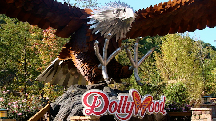 Dollywood Wild Eagle emblem
