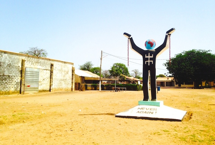 Gambia Roots monument