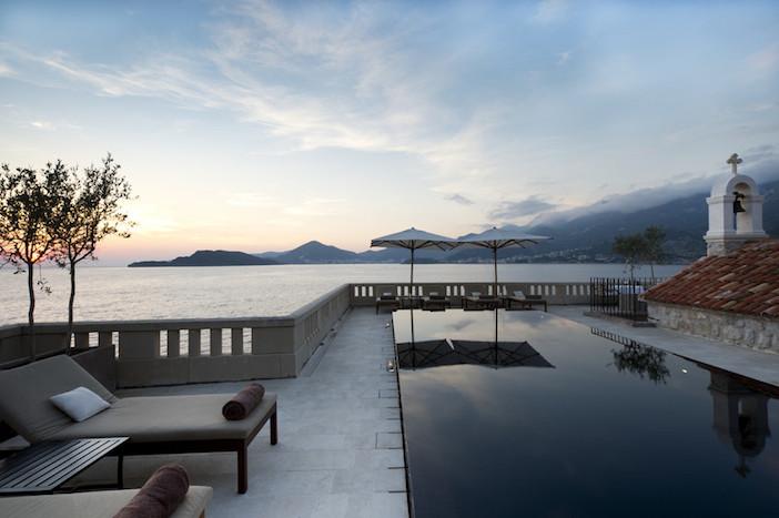 Aman Sveti Stefan - Swimming Pool