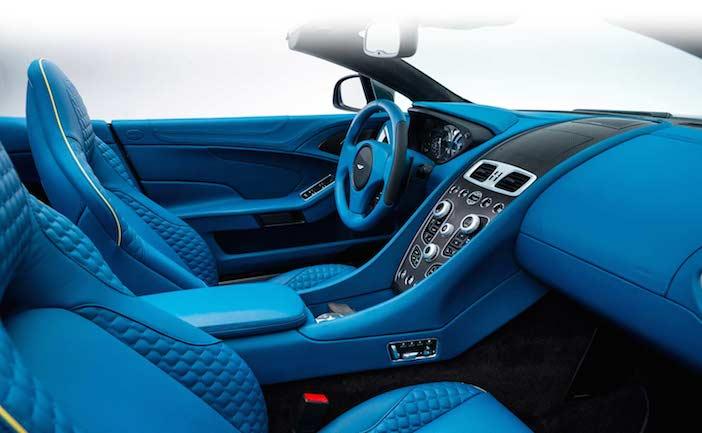 Aston Martin Vanquish Volante interior