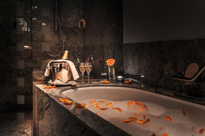 Tschuggen Badezimmer Suite
