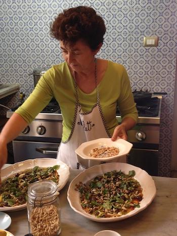 5 N finishing the salad