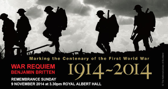 Brittens War Requiem poster