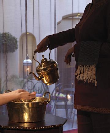 Hand washing ritual
