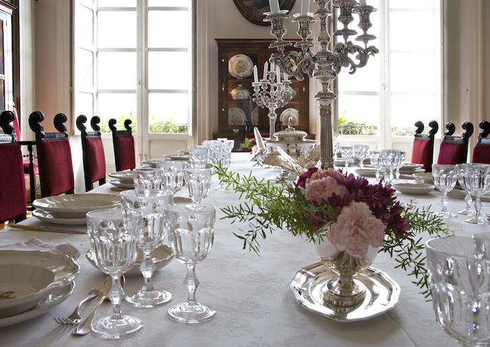 Palazzo Tomasi dining