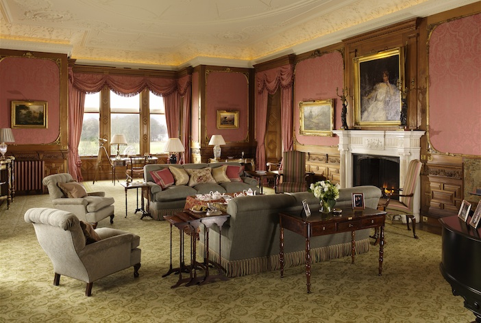 Skibo castle drawing room