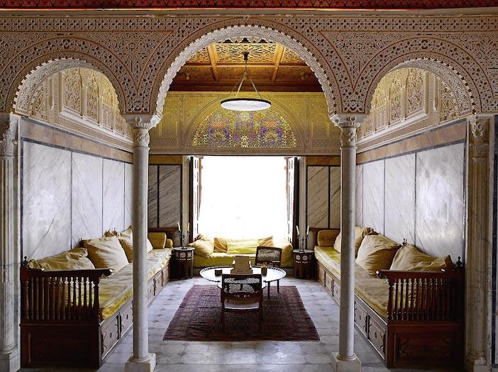 Palais du Baron d'Erlanger ou Dar Ennajma Ezzahra à Sidi Bou Said