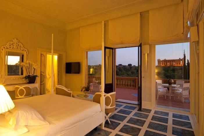 Siciliy Villa Athena suite