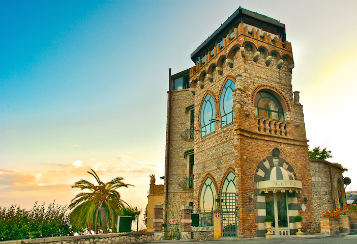 Sicily Villa Carlotta entrance