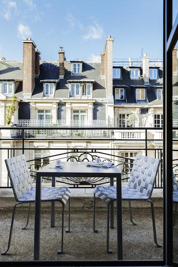 Sofitel Paris balcony