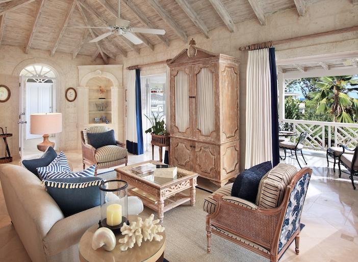 Luxury Plantation Suite - Warleigh Living Room Landscape