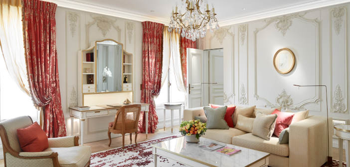 Valentine's Day at Le Meurice